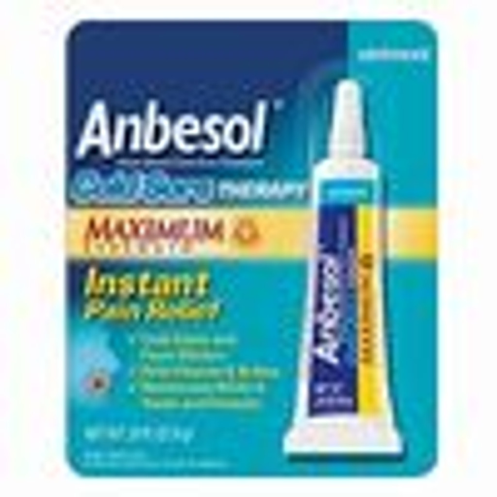 Anbesol Maximum Strength Cold Sore Therapy - 0.25 oz