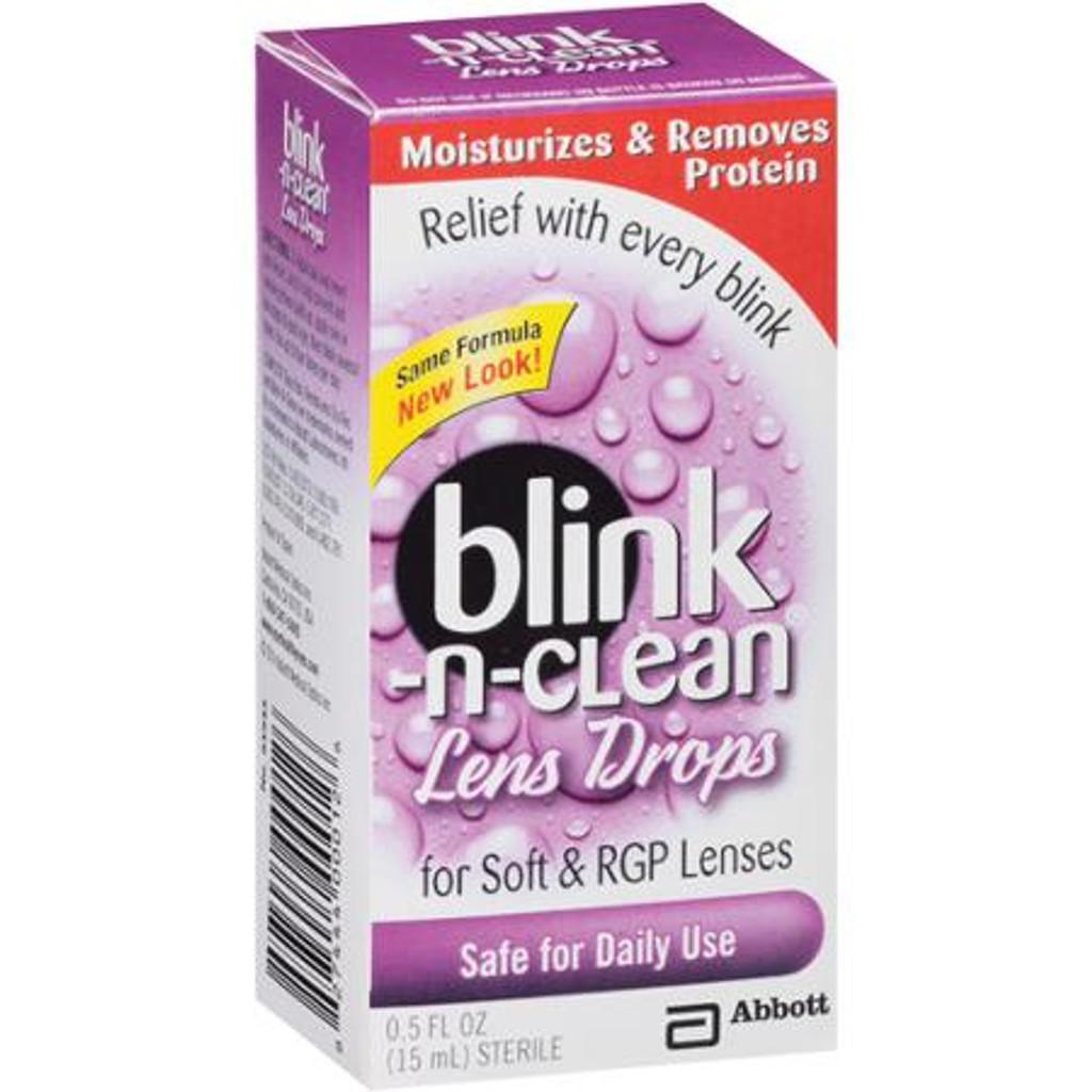 Blink N Clean Lens Drop 15ml