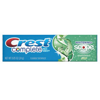 Crest Complete Whitening Plus Scope Minty Fresh Toothpaste, 0.85 Ounce x 12 Pack