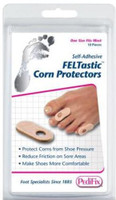 Pedifix Felt Corn Protectors-10 Per Pack