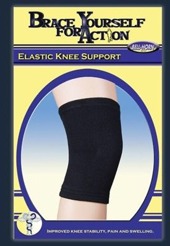 Bell Horn Elastic Knee Support #99300 Black XL 18-20""
