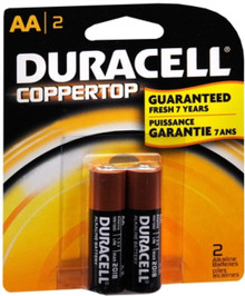 Duracell Coppertop Popular Alkaline Battery Size Aa 1.5 V Card 2