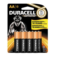 Duracell Coppertop AA Batteries 8 Count