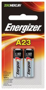 Energizer A23 Battery, 12 Volt - 2 Pack