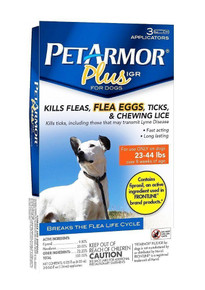 Petarmor Dog Flea Tick 23-44 lb 3ct