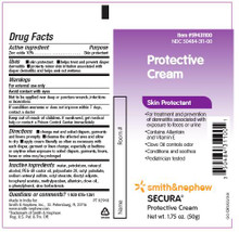 Smith and Nephew Secura Skin Protective Cream - 2.75 oz. Tube