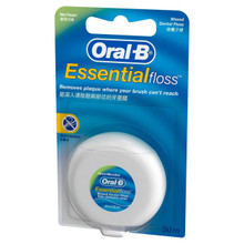 Oral B Essential Floss Waxed Mint 55yd