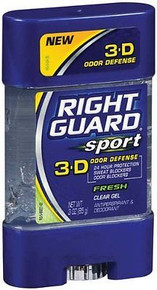 Right Guard Antiperspirant Clear Gel Fresh 3oz