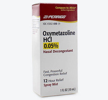 Oxymetazoline 0.05% Spray 1oz Perrigo