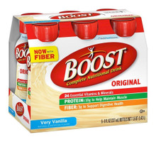 Boost Nutritional Energy Drink Vanilla, 6 ct (Pack of 4)