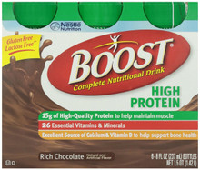Boost High Protein Chocolate Drink, 6 ct, 8 oz (4 packs)