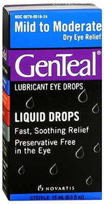 Genteal Tears Moderate Eye Drops 15ML