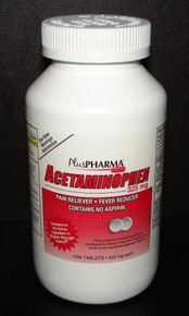 Acetamin 325mg Tablet 1000ct Plus Pharma