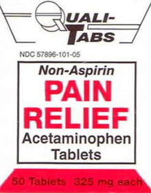 Acetamin 325mg Tablet 50ct Geri-care
