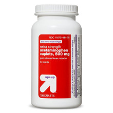 Acetaminophen 500mg Caplets 100ct