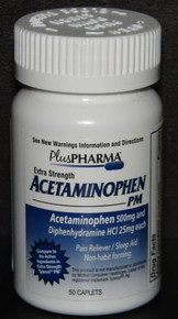 Acetaminophen Pm 500mg Caplets 50ct