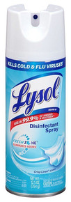 Lysol Disinfectant Spray, Crisp Linen, 12.50 Ounce