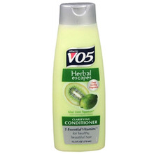 Alberto VO5 Herbal Escapes Kiwi Lime Squeeze Clarifying Conditioner, 12.5 Oz