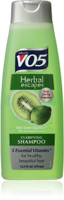 Alberto VO5 Herbal Escapes Kiwi Lime Squeeze Clarifying Shampoo 12.5 oz