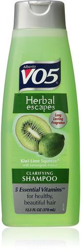 Alberto VO5 Herbal Escapes Kiwi Lime Squeeze Clarifying Shampoo 12.5 oz