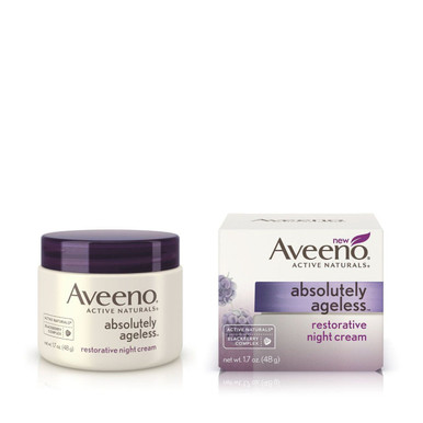 Aveeno Absolutely Ageless, Restorative Night Cream, 1.7 Oz