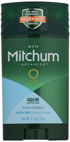 Mitchum Advanced Control, Clean Control, 2.7 Ounce