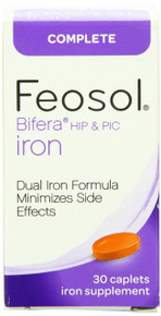 Feosol Complete Iron supplement, 30 Count
