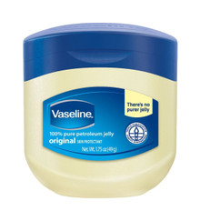 Vaseline 100% Pure Petroleum Jelly, 1.75 Ounce 12 packs