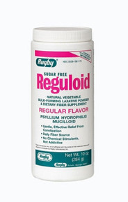 REGULOID S-FREE LAX PWDR REG PSYLLIUM-59% tan natural 284 GM