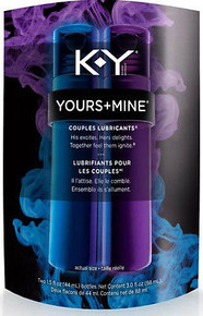 K-Y Yours + Mine Couples Personal Lubricants, 3 Ounce