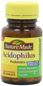 Nature Made Acidophilus Probiotics, 60 Count