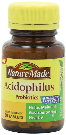 Why Nature Made probiotics? Guaranteed potency until expiration.** Clinically efficacious dose. Gentle enough for everyday use. Made with Probi Digestis. First in probiotics. Color derived from natural sources - no synthetic dyes, artificial flavors, preservatives, dairy. Gluten free. % vegetarian/5(10).