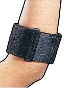Bell-Horn Tennis Elbow Support Strap #194 Universal size in Black