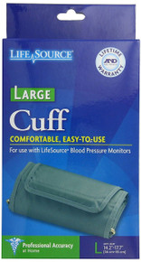 "LifeSource UA-281 Blood Pressure Monitor Cuff, Large (14.2"" - 17.7"")"