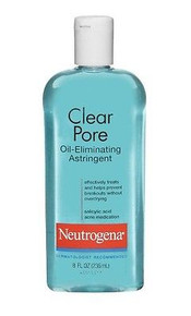 Neutrogena Clear Pore Oil Eliminating Astringent, 8 Ounce