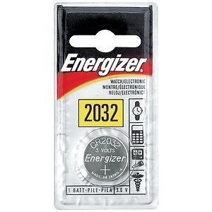 Energizer 3 Volt Watch & Calculator Lithium Battery ECR2032BP