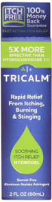 TriCalm Soothing Hydrogel 2 oz Relieves itching, burning and stinging