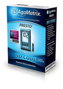 Wavesense Presto No Code, Blood Glucose Starter Kit