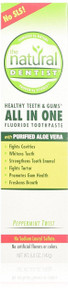 The Natural Dentist Healthy Teeth & Gums Original Toothpaste, Peppermint 5 oz