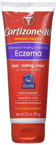 Cortisone 10 Intensive Healing Eczema Lotion, 3.5 Ounce