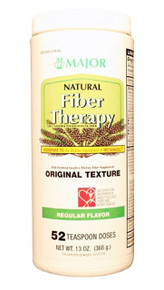 MAJOR Natural Fiber Therapy Psyllium - 49% LT brown 368GM 13 oz