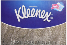 Kleenex White Facial Tissue, 160 ct, 24 packs