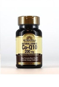 Co-Enzyme Q-10 200 mg. promotes Heart Health and promotes Energy production 30CT