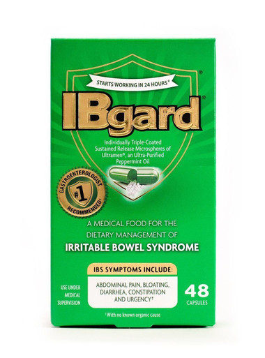 IBgard for Irritable Bowel Syndrome, 90MG 48 capsules