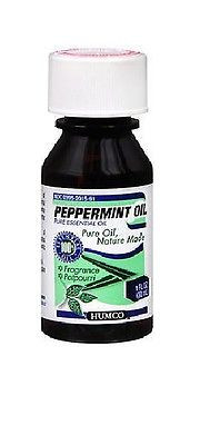 Humco Peppermint Oil - 100% Pure Essential Oil, 1 oz