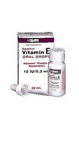 Aqueous Vitamin E Oral Drops - 30 ml by Silarx