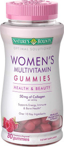 Nature's Bounty Optimal Solutions Women's Multivitamin, 80 Gummies