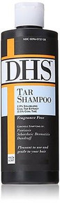 DHS TAR Shampoo 4 oz, controls Psoriasis, Sebhorrheic Dermatitis and Dandruff