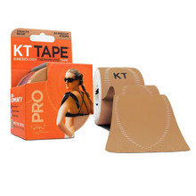 KT TAPE PRO Elastic Kinesiology Therapeutic Tape 20 CT Color: Stealth Beige