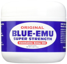 Blue-Emu Super Strength Emu Oil 4 Oz for minor arthritis muscle and joint relief